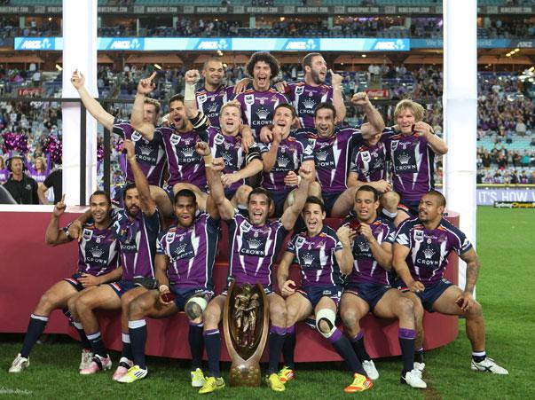 Melbourne Storm 2012 Premiers