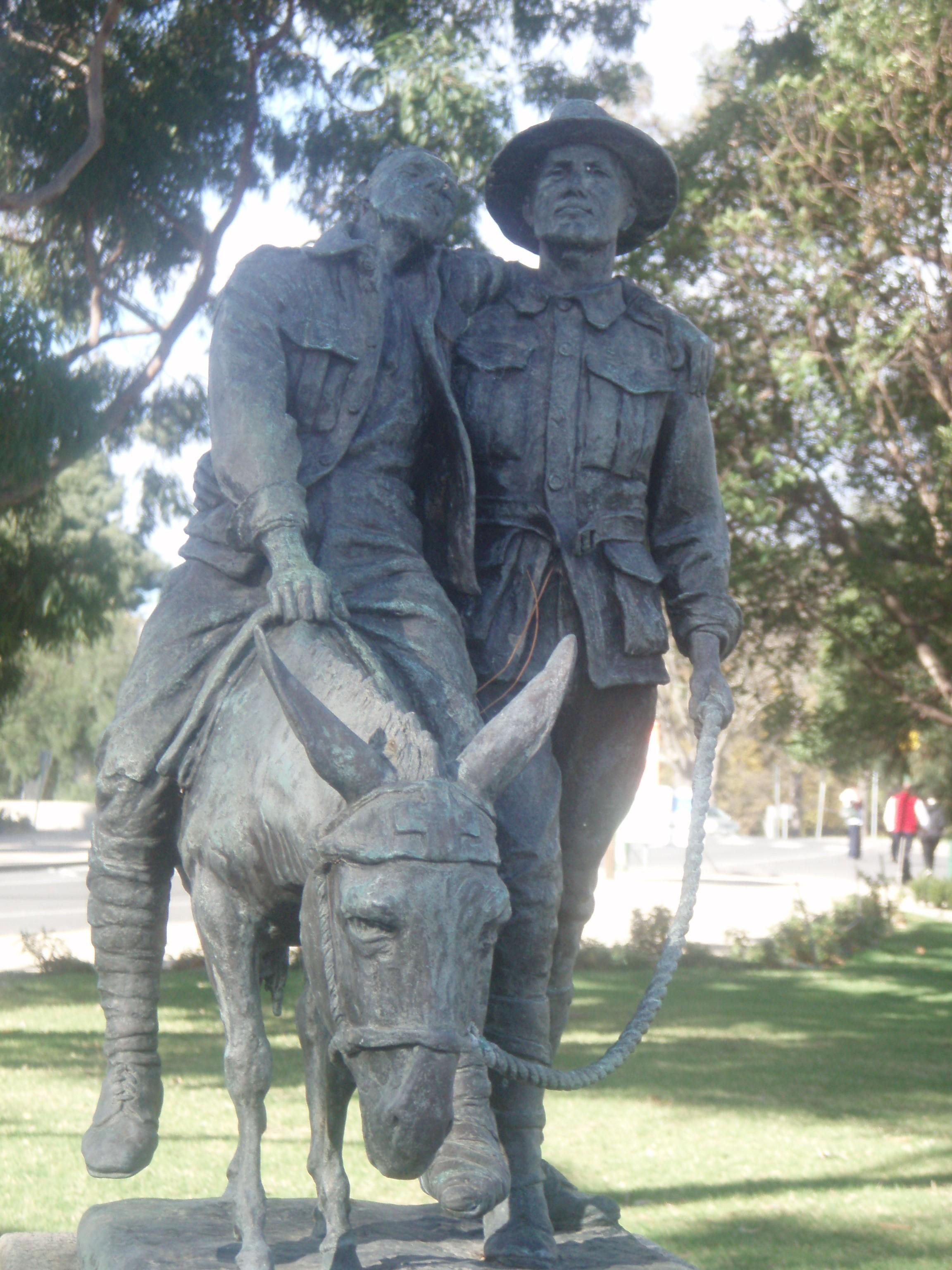 Pvt. John Simpson at Gallipoli