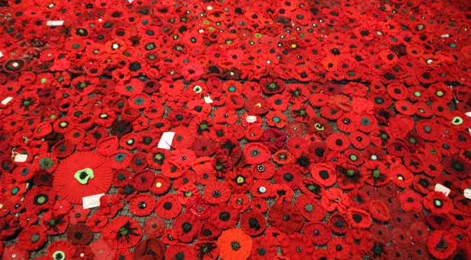 5000 Poppies -ANZAC Centenary Project